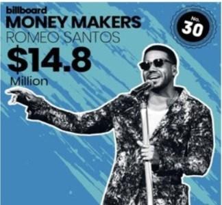Romeo, uno de los mejores pagados en la industria