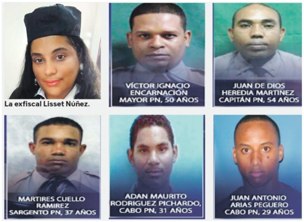 Procurador anuncia el arresto de exfiscal de Villa Vásquez y 5 miembros de la DNCD; pedirán coerción.