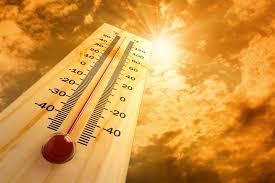 Temperaturas calurosas y algunos chubascos este jueves