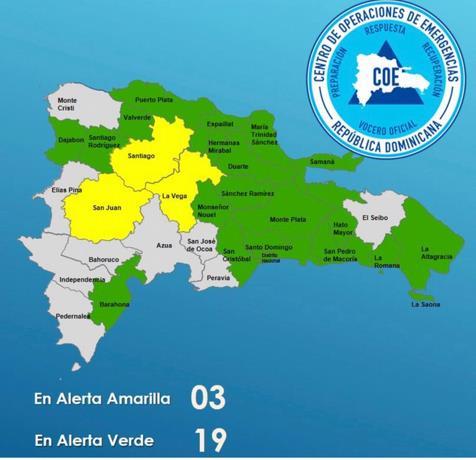 Diez acueductos fuera de servicio, 69 viviendas afectadas y 349 desplazados por las lluvias
