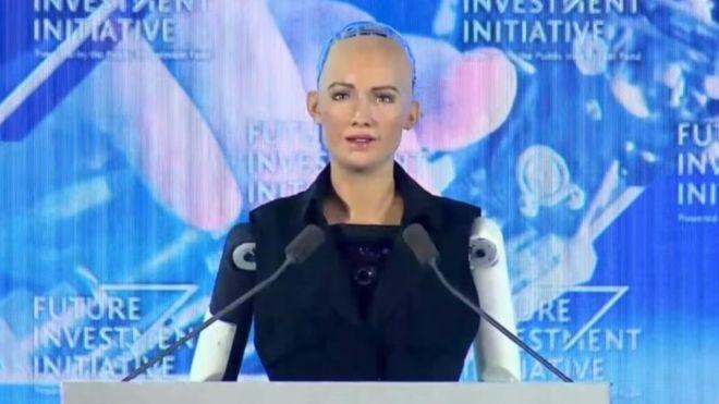Sophia, la robot más avanzada del mundo visitará el país