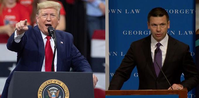Trump anuncia la salida de Kevin McAleenan, secretario de Seguridad Nacional