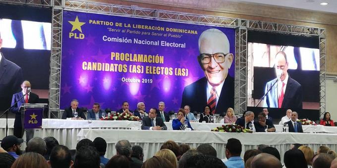 Sin Danilo ni Leonel, el PLD proclama a sus candidatos a elecciones 2020