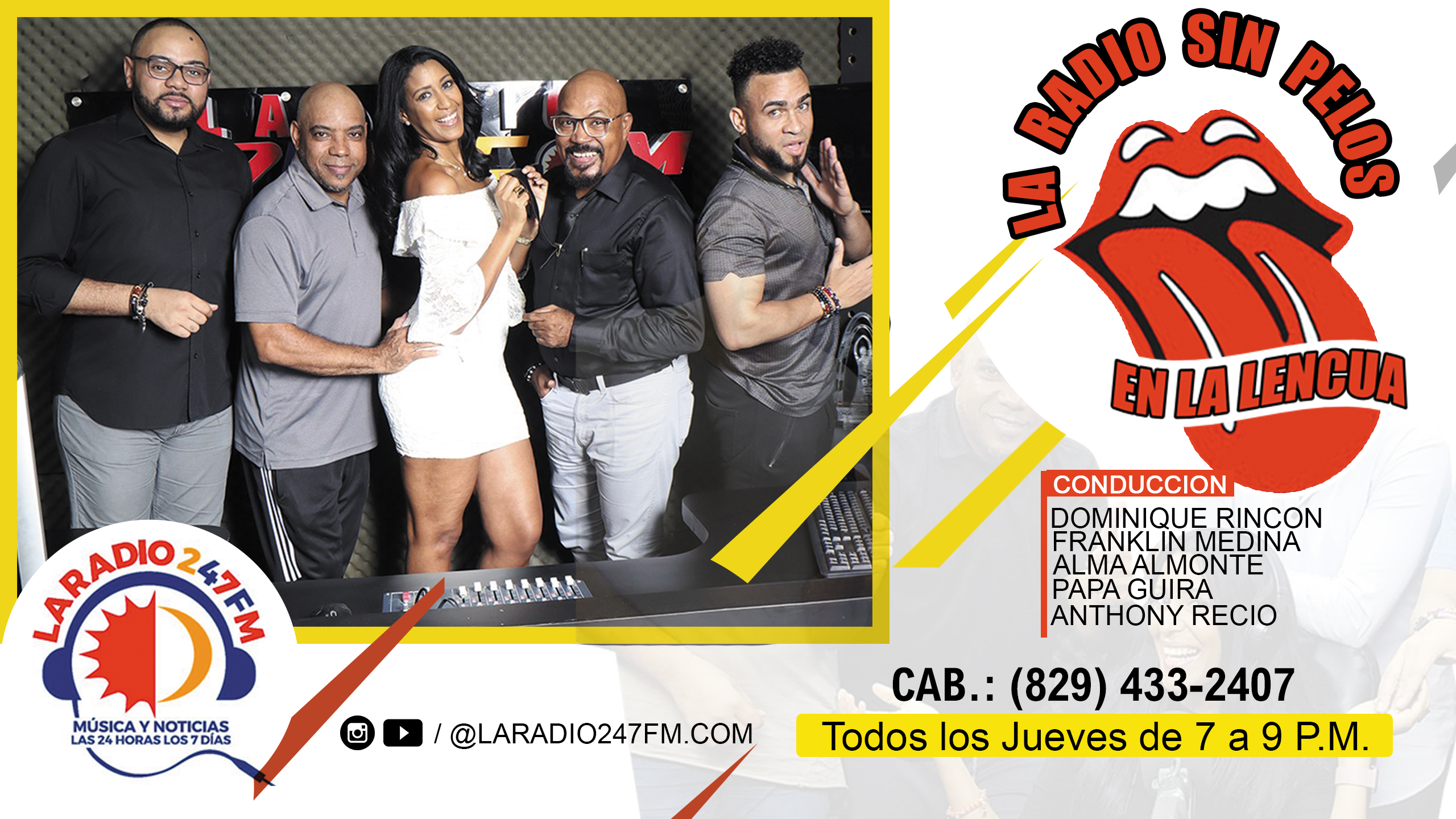 LARADIO SIN PELOS EN LA LENGUA NAVIDAD COMPLETO 13 NOV 19 #LARADIO247FM