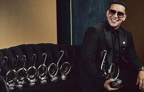 Daddy Yankee se convirtió en el artista más premiado con siete trofeos