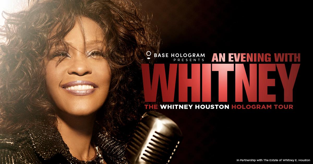 La gira de hologramas de Whitney Houston está asustando a mucha gente