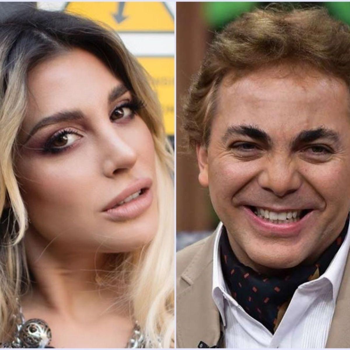 Cristian Castro tiene mal olor en los pies asegura conductora argentina