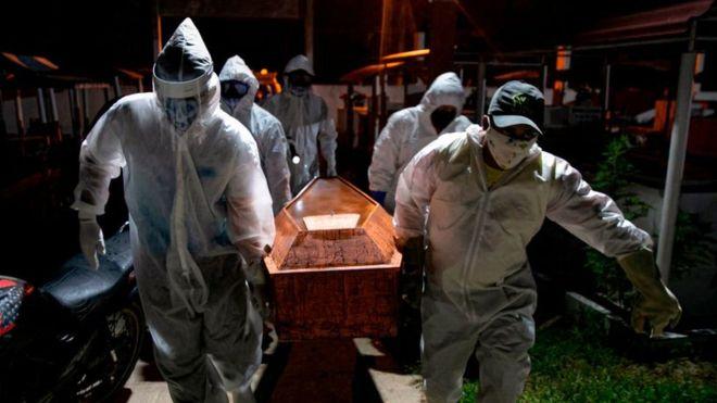 Coronavirus: Brasil se convierte en el primer país de América Latina en superar las 50.000 muertes por covid-19 y el segundo del mundo después de EE.UU.